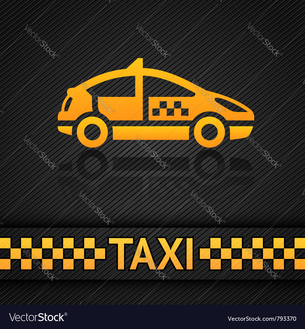 Racing background template taxi cab backdrop vector | Price: 1 Credit (USD $1)