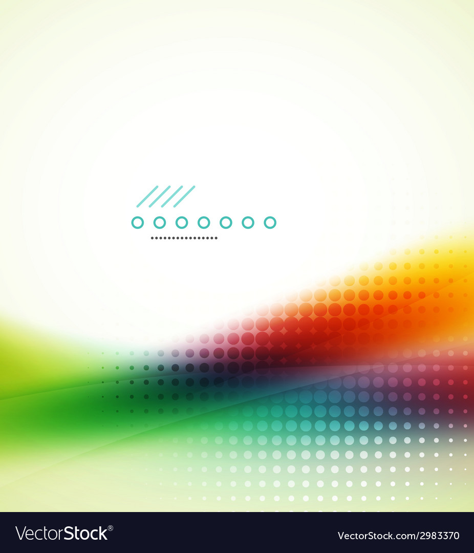 Rainbow flowing wave vector | Price: 1 Credit (USD $1)