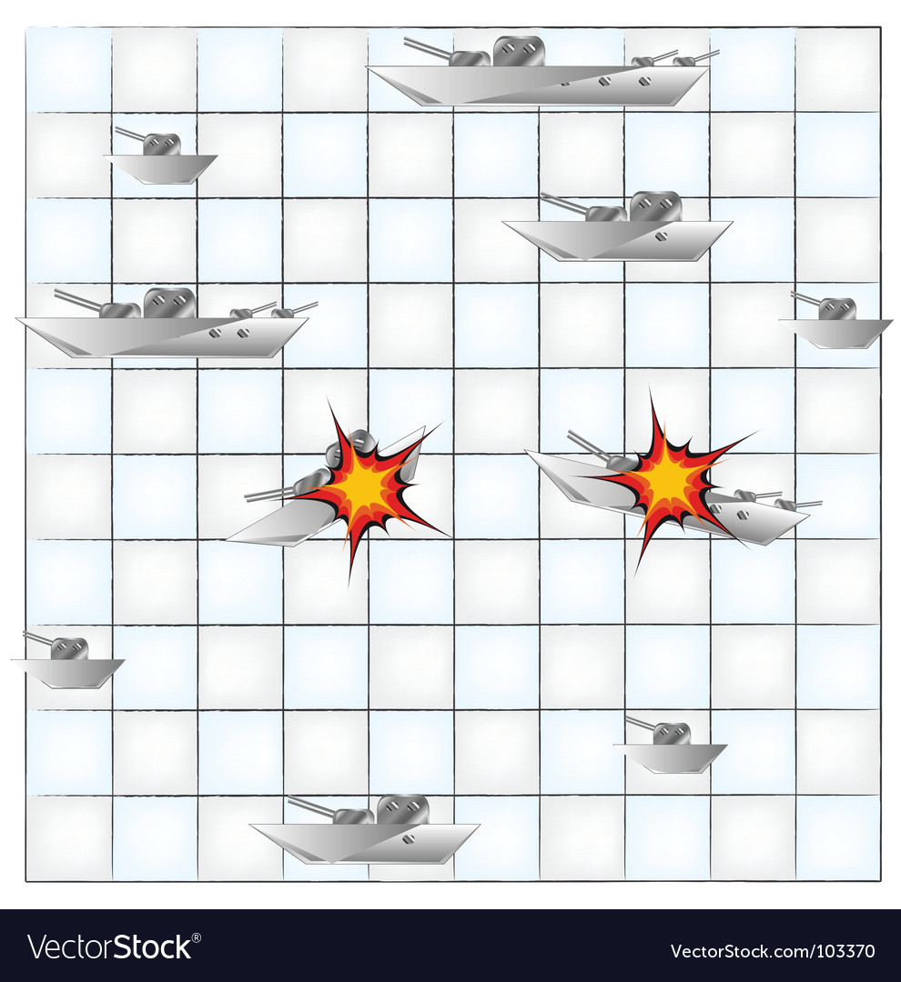 Sea battle vector | Price: 1 Credit (USD $1)