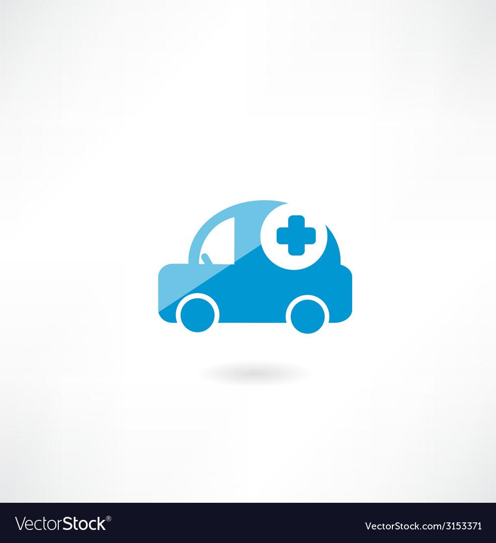 Ambulance icon vector | Price: 1 Credit (USD $1)