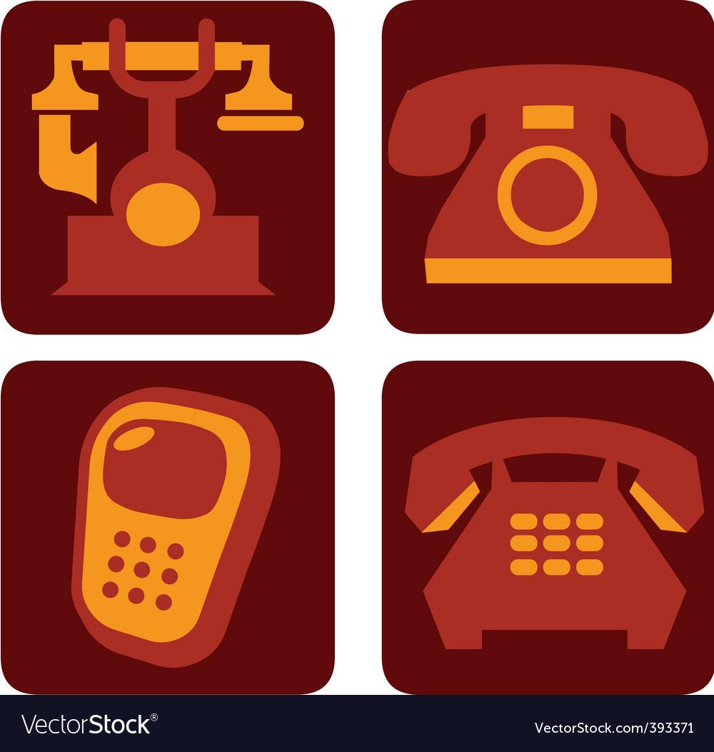 Telephone vector | Price: 1 Credit (USD $1)