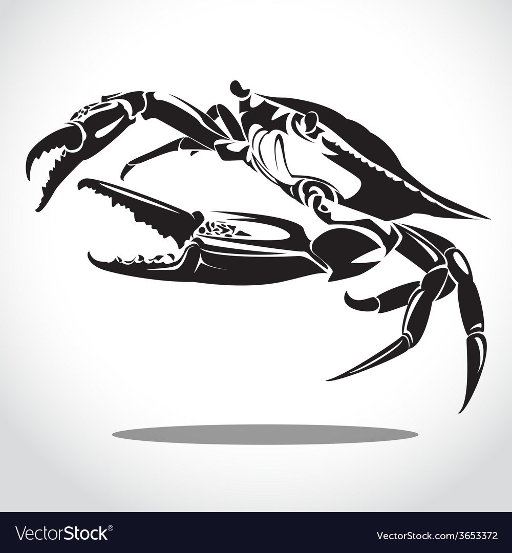 Crab 2 vector | Price: 1 Credit (USD $1)