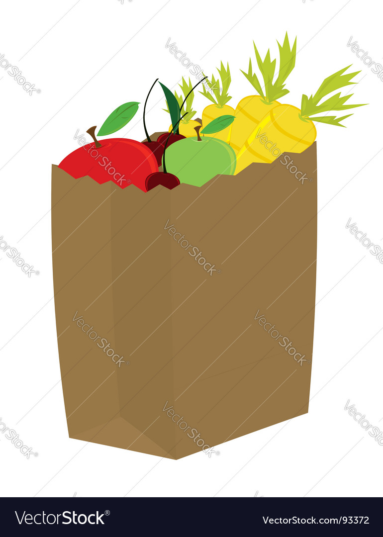 Fruit vegetables vector | Price: 1 Credit (USD $1)