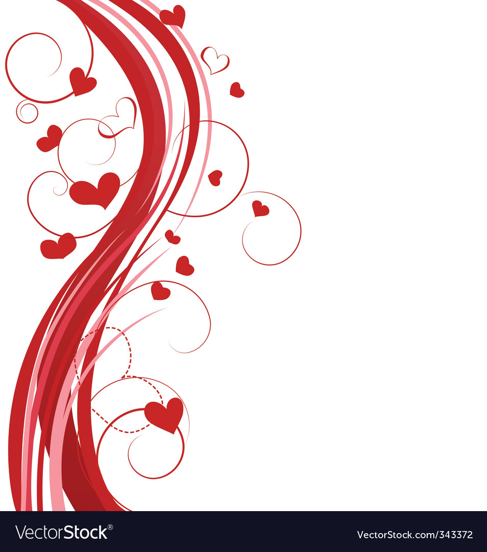 Hearts background vector | Price: 1 Credit (USD $1)