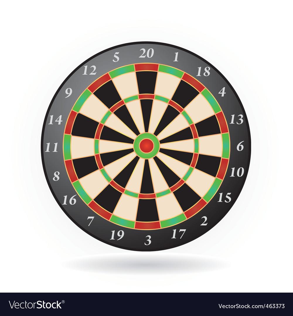 Darts game vector | Price: 1 Credit (USD $1)