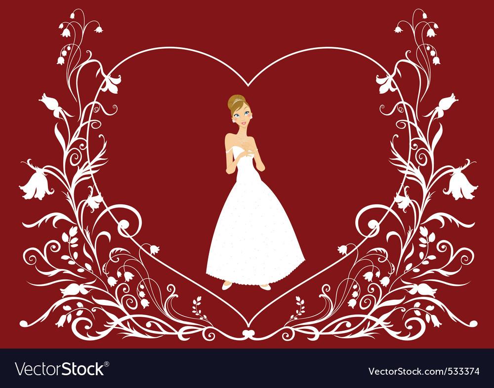 Bride vector | Price: 1 Credit (USD $1)