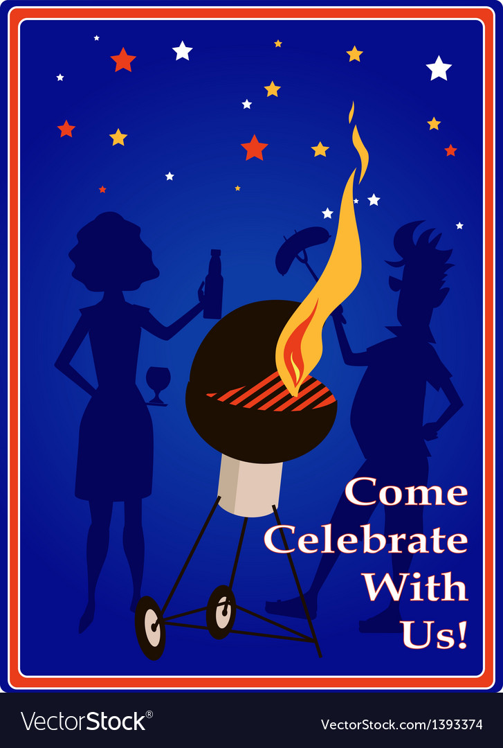 Come celebrate with us vector | Price: 1 Credit (USD $1)