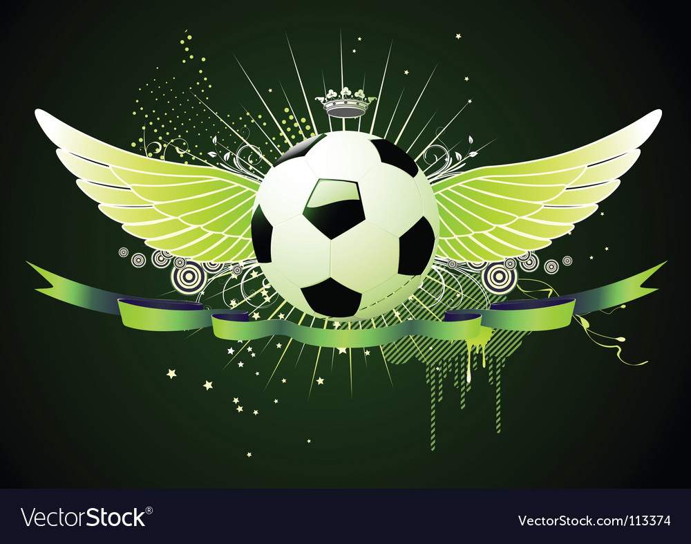 Football emblems vector | Price: 1 Credit (USD $1)