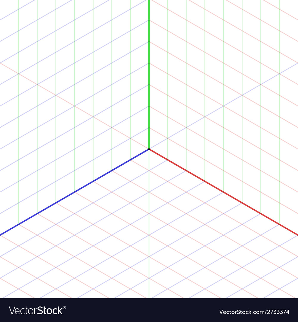 Isometric projection background vector | Price: 1 Credit (USD $1)