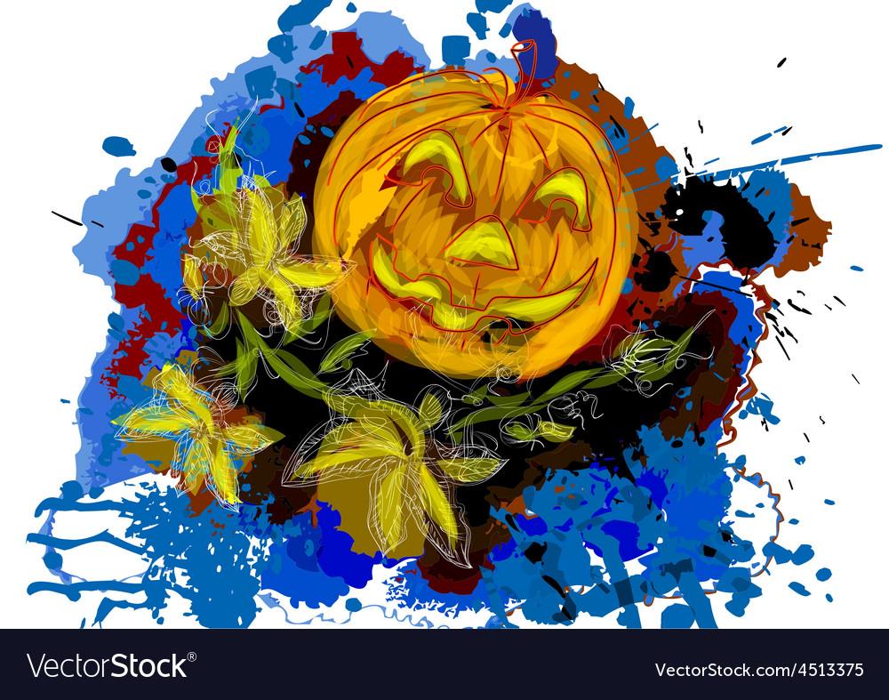 Halloween day vector | Price: 1 Credit (USD $1)