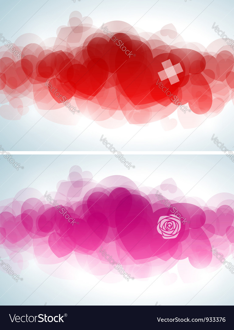 Abstract valentines day design vector | Price: 1 Credit (USD $1)