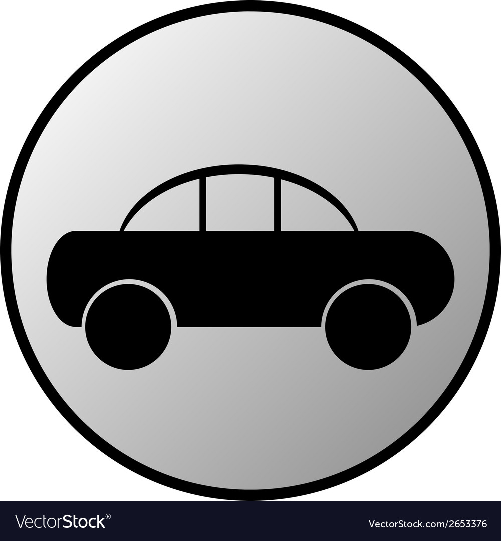 Car button vector | Price: 1 Credit (USD $1)