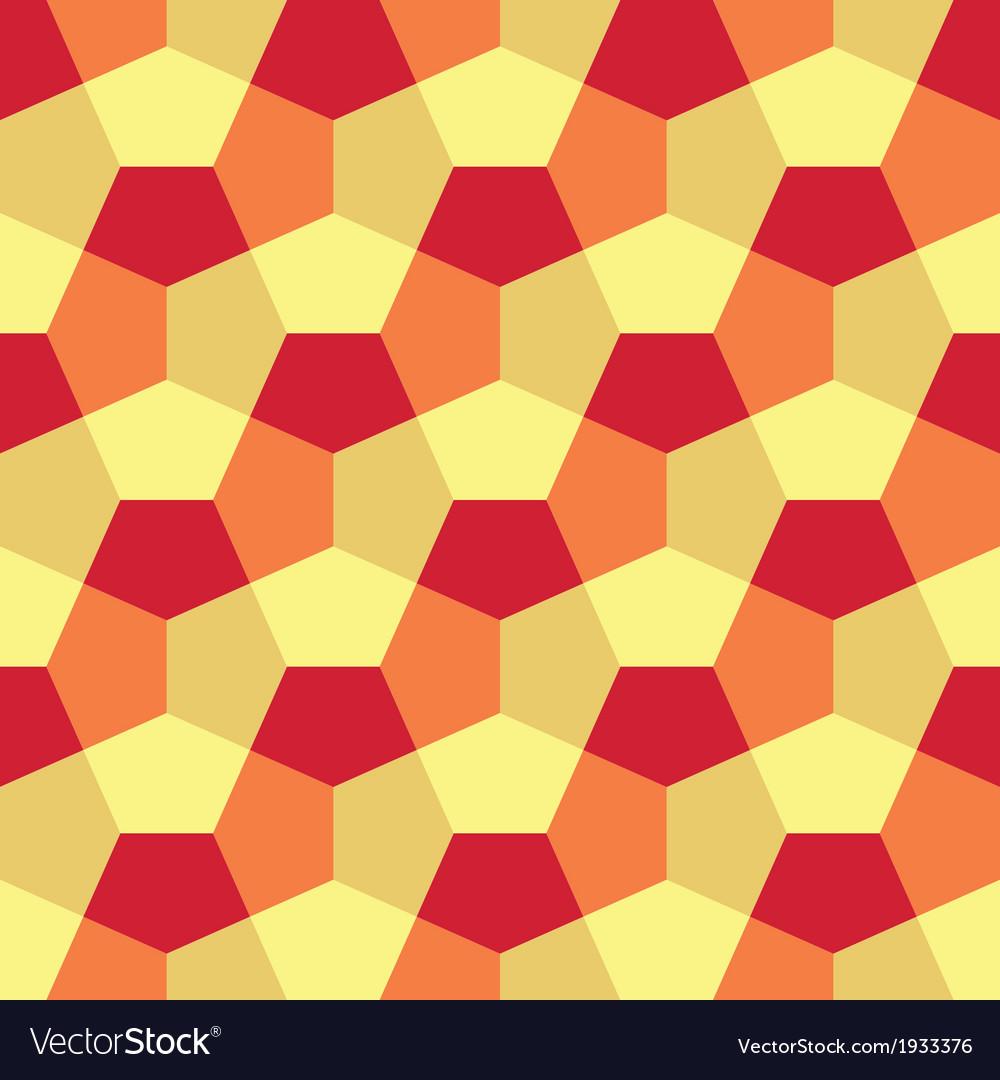 Hexagon paper fold pattern vector | Price: 1 Credit (USD $1)