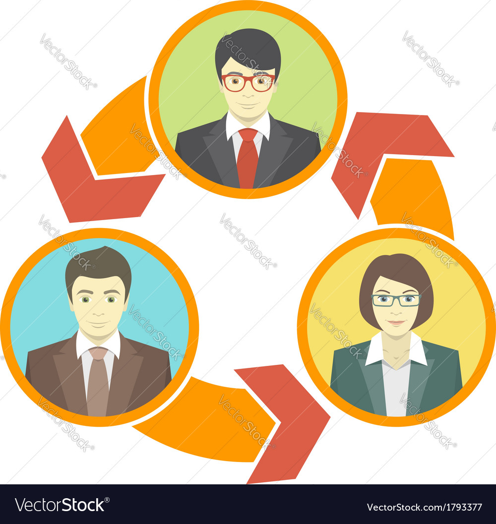 Business collaboration concept vector | Price: 1 Credit (USD $1)