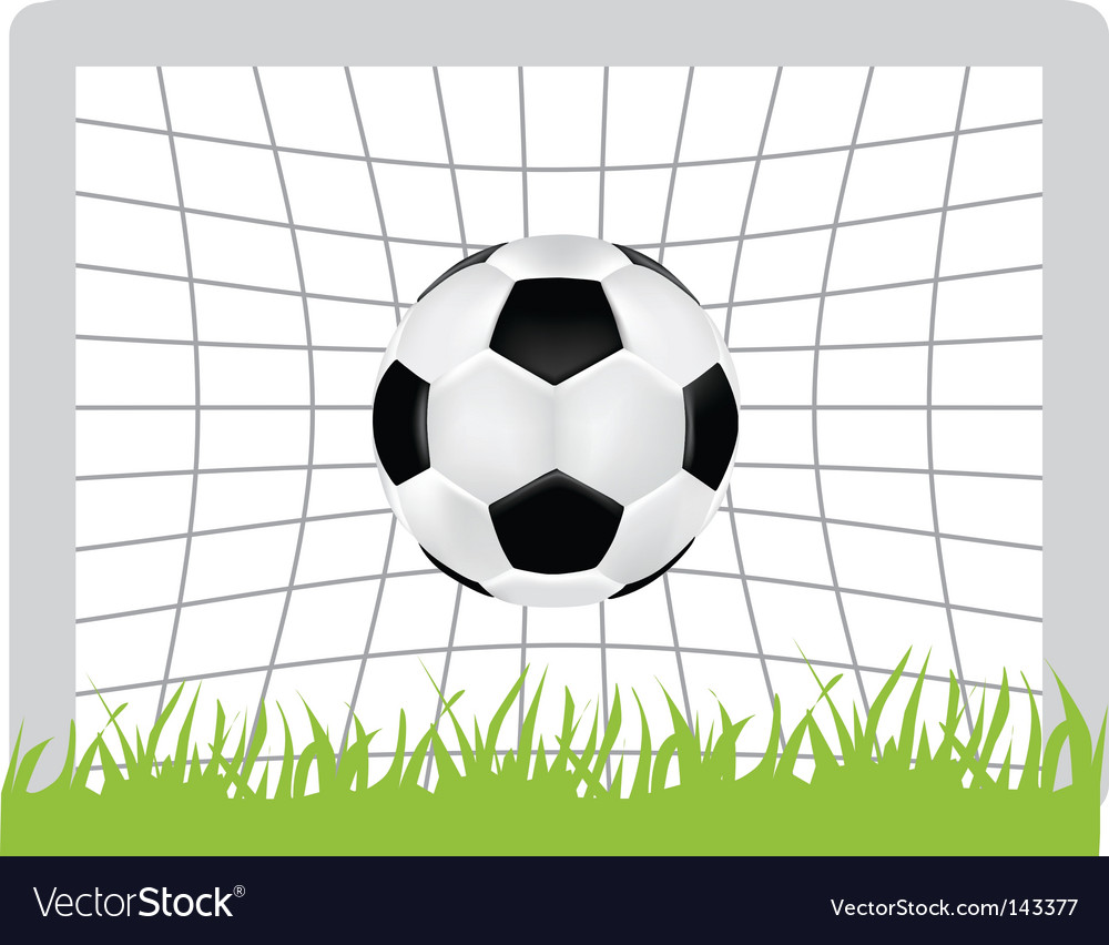 Football goal vector | Price: 1 Credit (USD $1)