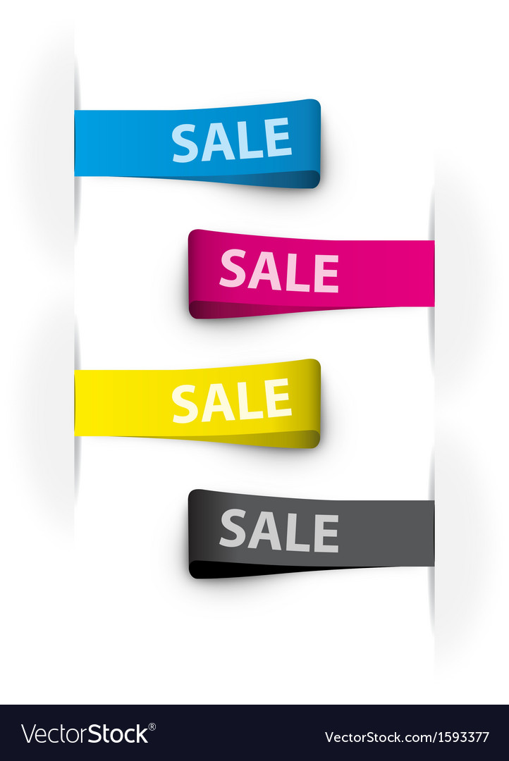 Sales tags vector | Price: 1 Credit (USD $1)