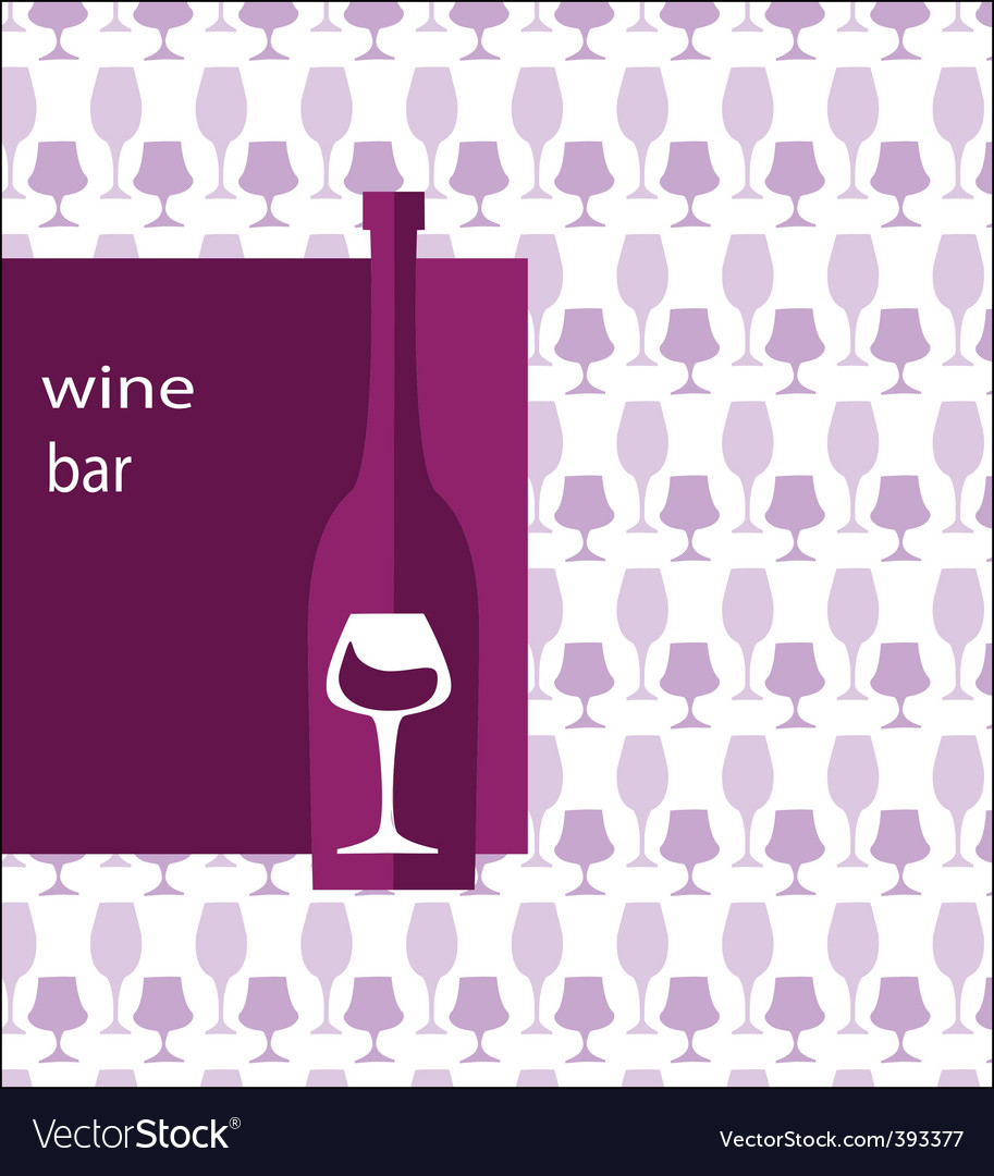 Wine menu vector | Price: 1 Credit (USD $1)
