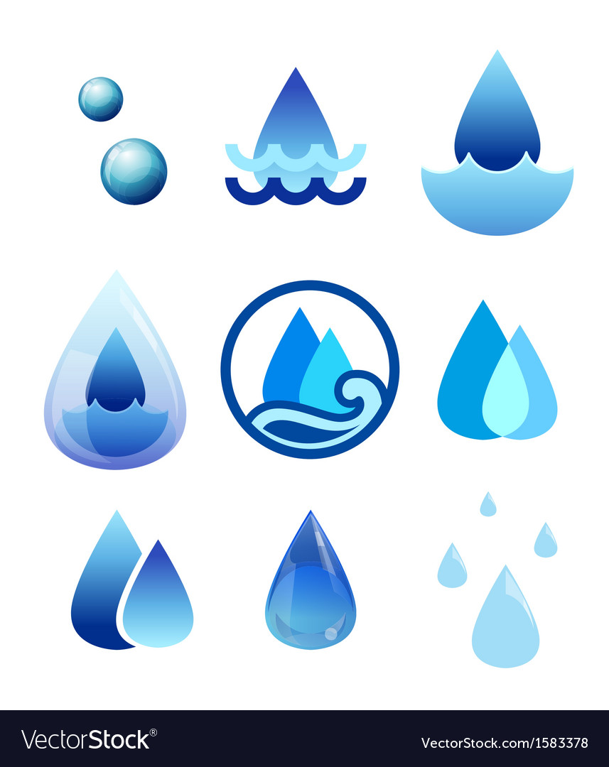 Drop water vector | Price: 1 Credit (USD $1)