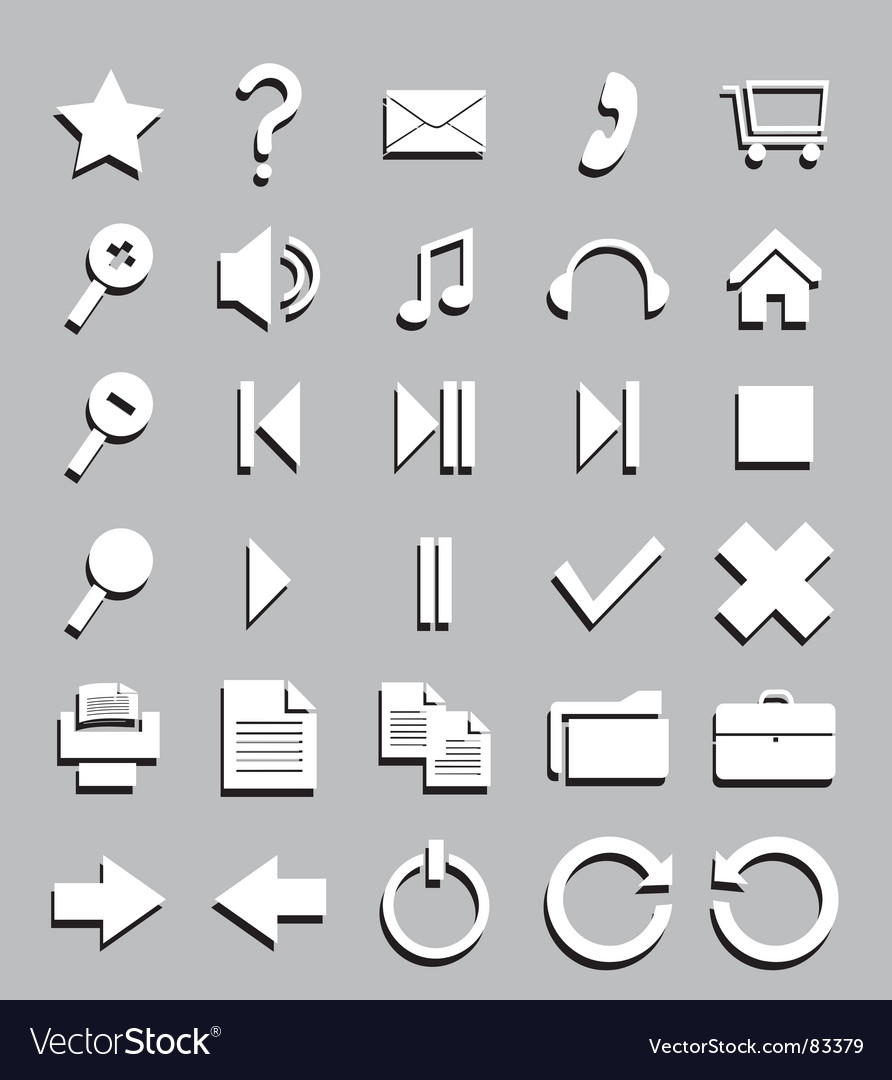 Design symbols vector | Price: 1 Credit (USD $1)