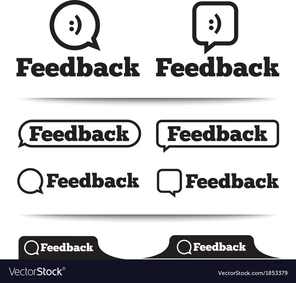 Feedback labels feedback tags feedback tab vector | Price: 1 Credit (USD $1)
