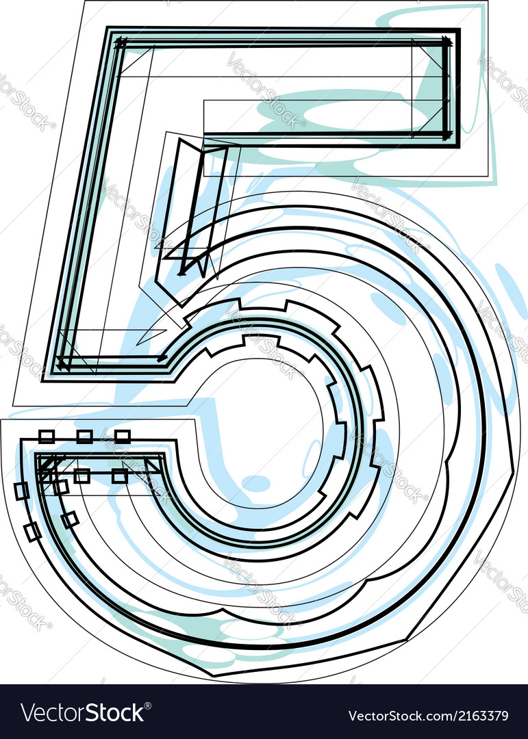Font number 5 vector   Price: 1 Credit (USD $1)