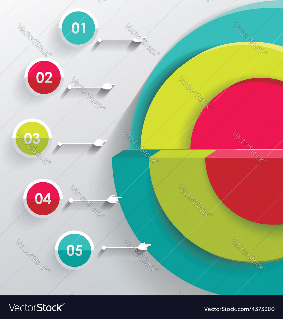 3d infographic can be used for number options vector   Price: 1 Credit (USD $1)
