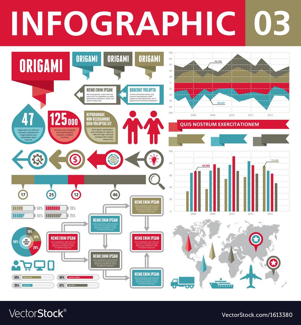 Infographic elements 03 vector | Price: 1 Credit (USD $1)