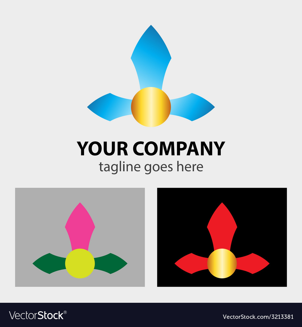 Arrows logo for corporation business sign vector   Price: 1 Credit (USD $1)