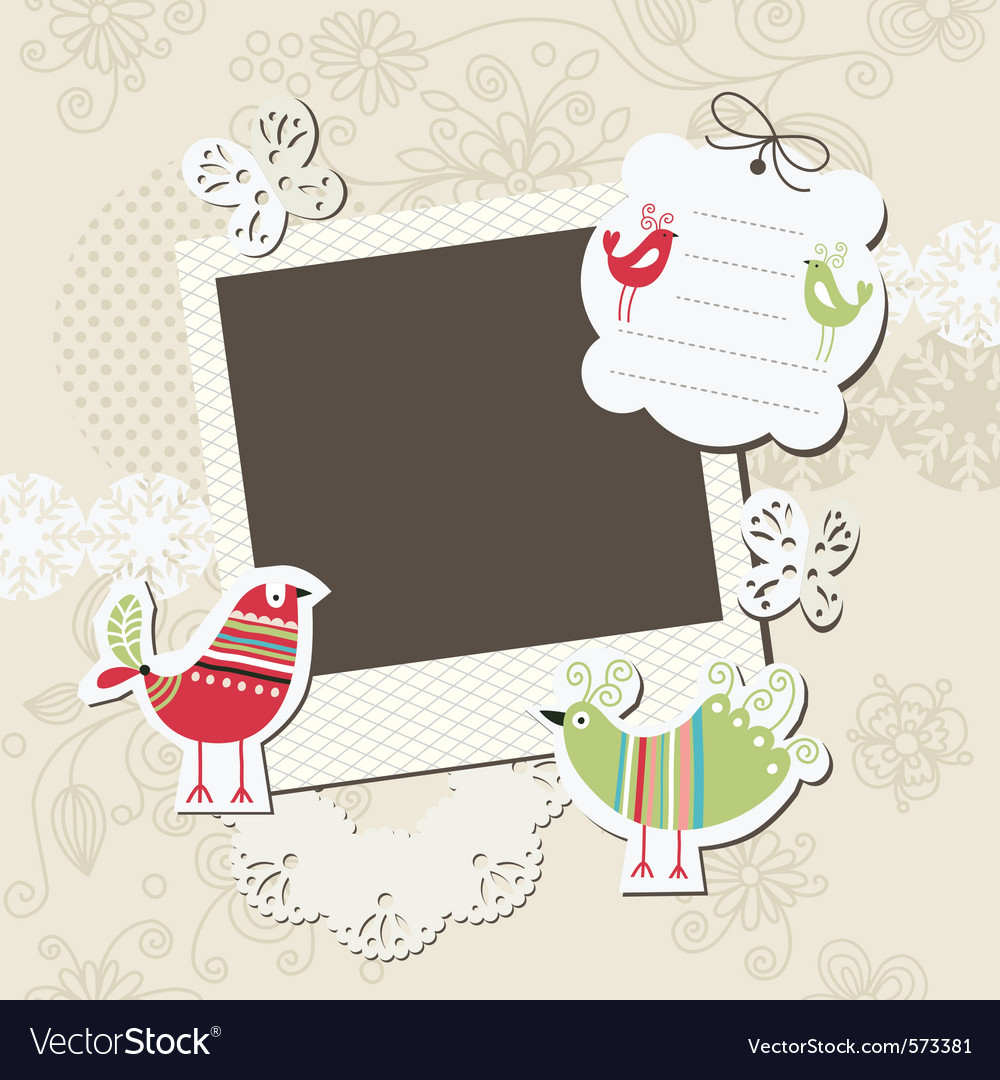 Digital scrapbook vector | Price: 1 Credit (USD $1)