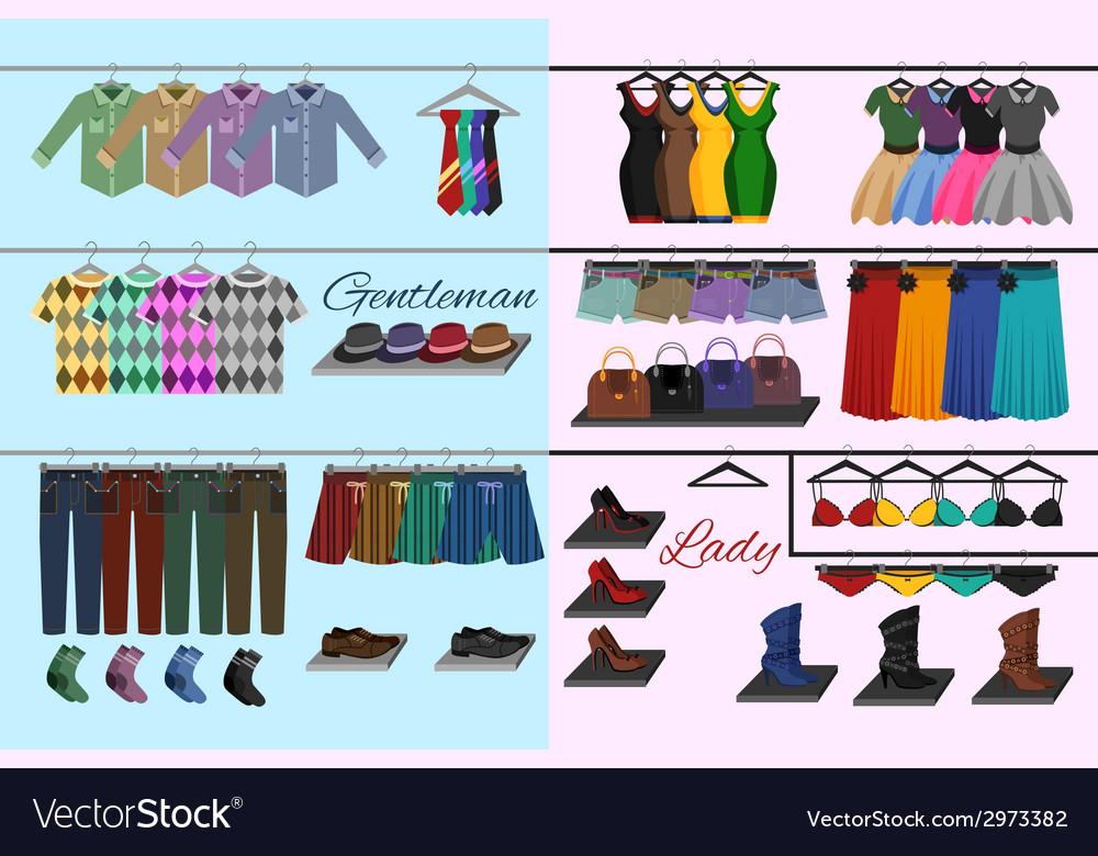 Clothes shop concept vector   Price: 1 Credit (USD $1)