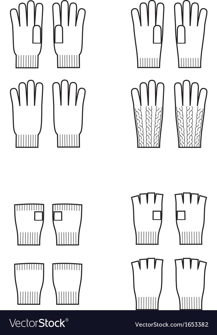 Gloves vector | Price: 1 Credit (USD $1)