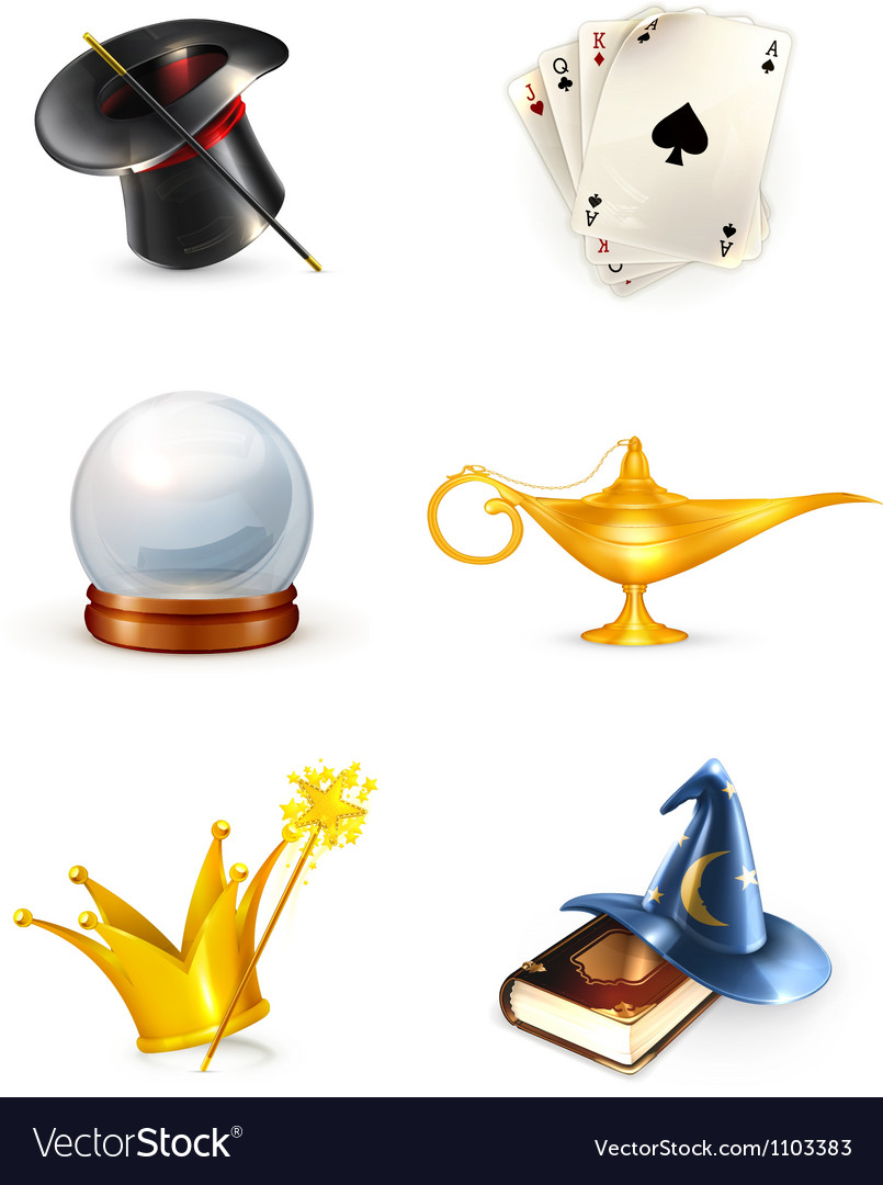Magic set vector | Price: 3 Credit (USD $3)