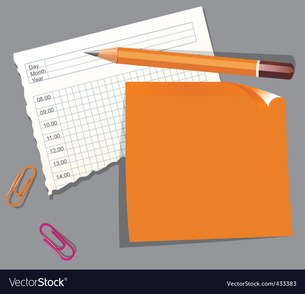 Office stationery vector   Price: 1 Credit (USD $1)