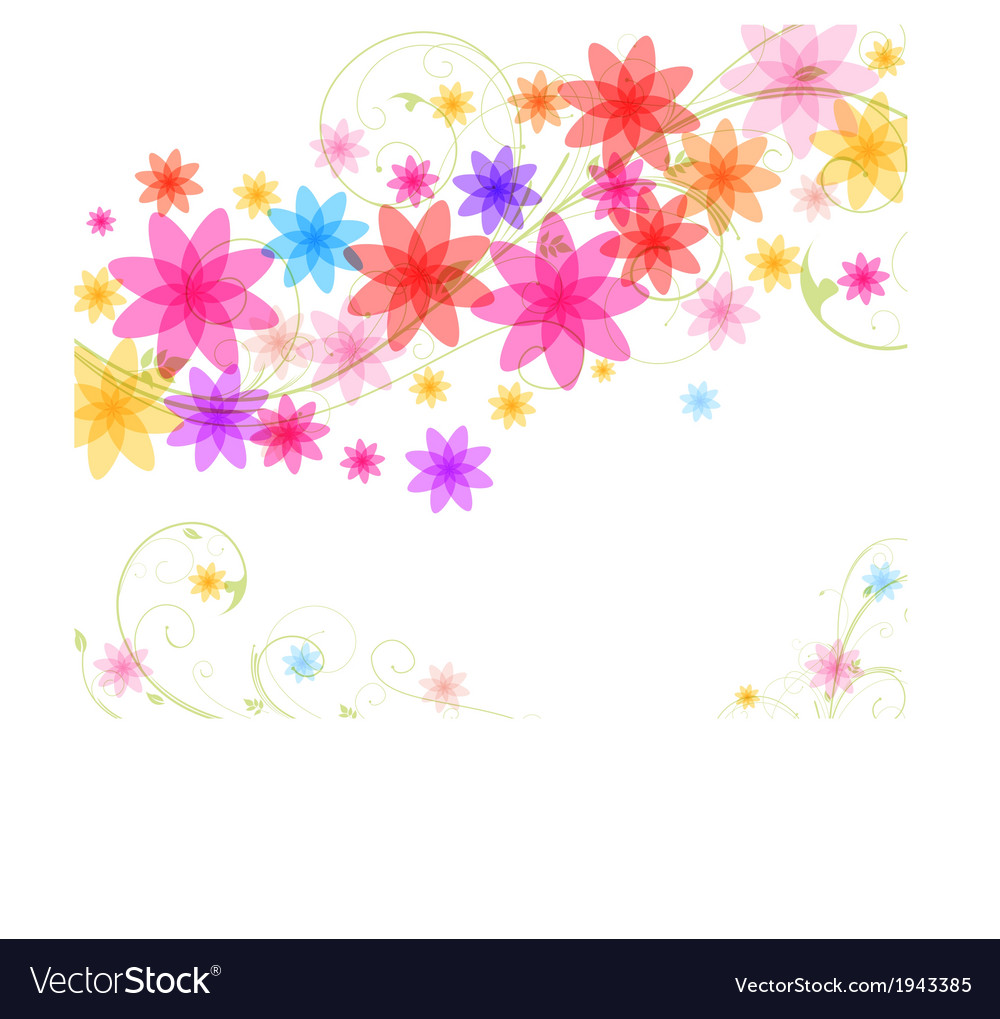 Abstract spring vector | Price: 1 Credit (USD $1)