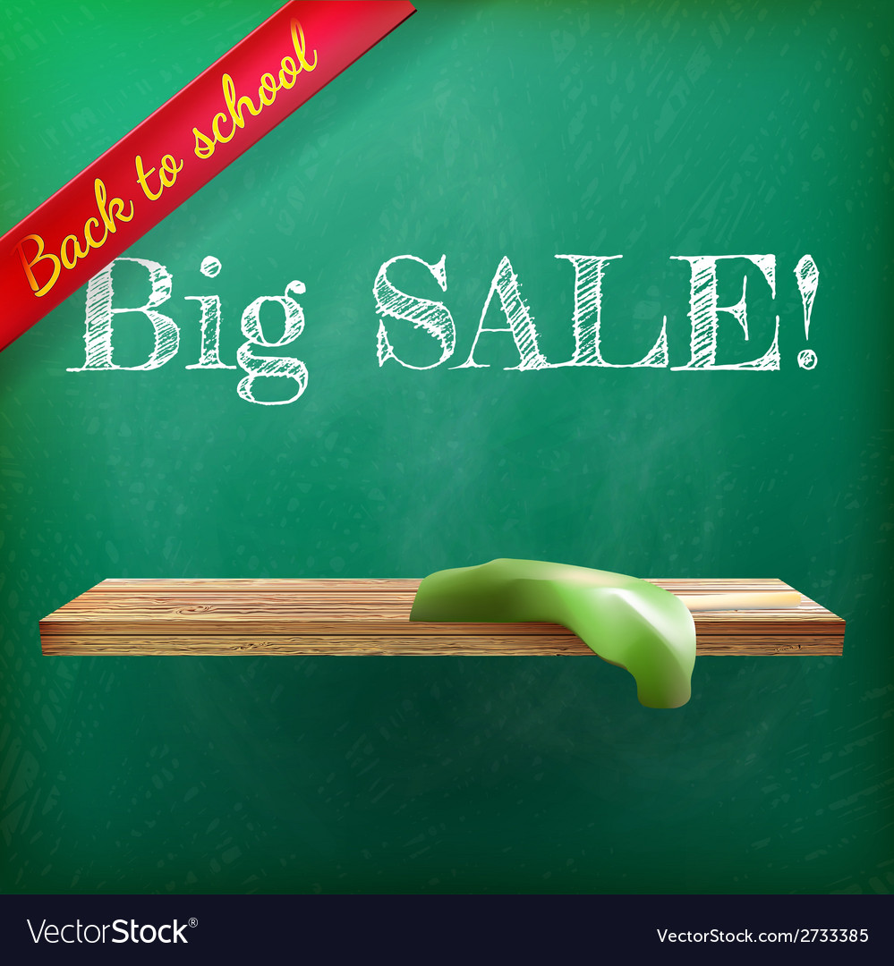 Back to school sale plus eps10 vector | Price: 1 Credit (USD $1)