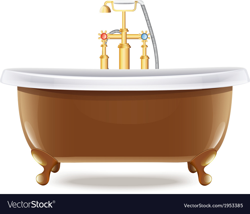 Bathtub vector | Price: 1 Credit (USD $1)