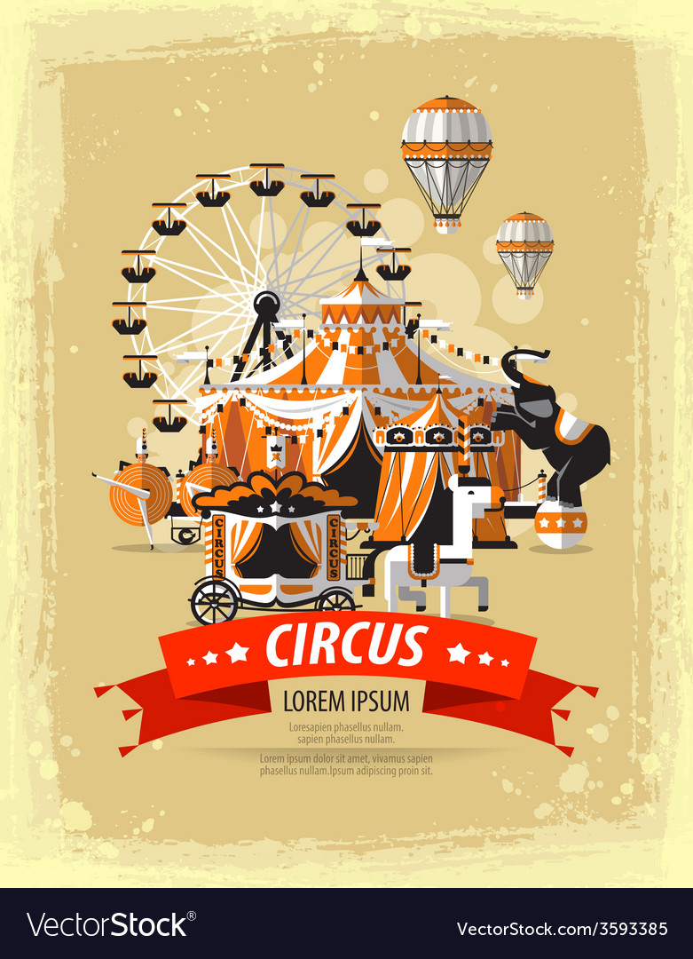 Circus fairground carnival vector | Price: 3 Credit (USD $3)