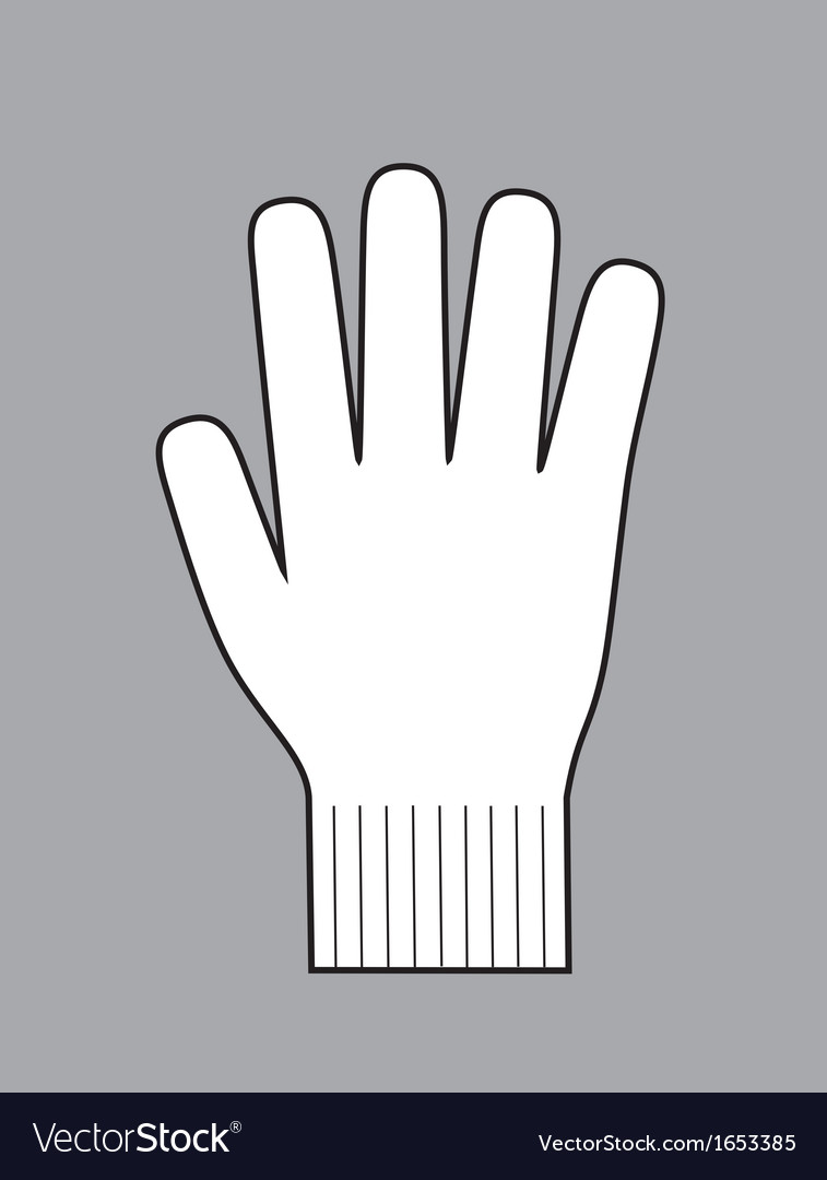 Glove vector | Price: 1 Credit (USD $1)