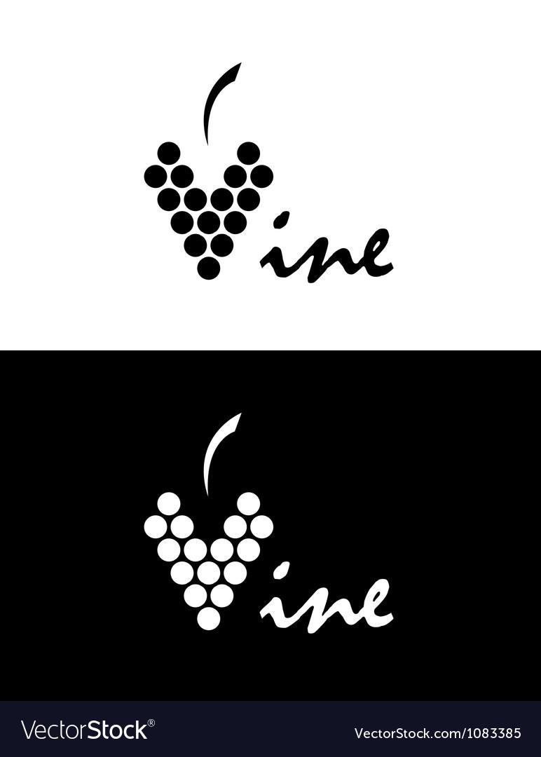 Vine logo vector | Price: 1 Credit (USD $1)