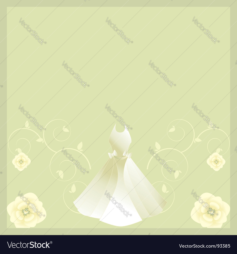 White dress background vector | Price: 1 Credit (USD $1)