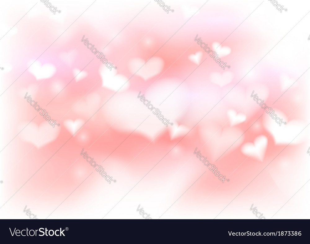 Abstract warm valentine background template vector | Price: 1 Credit (USD $1)