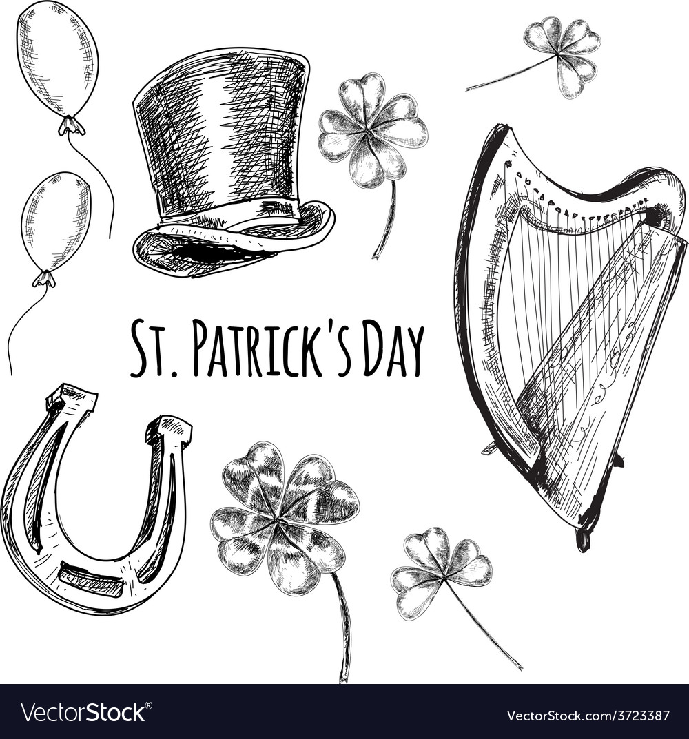 Day of st patrick vector | Price: 1 Credit (USD $1)