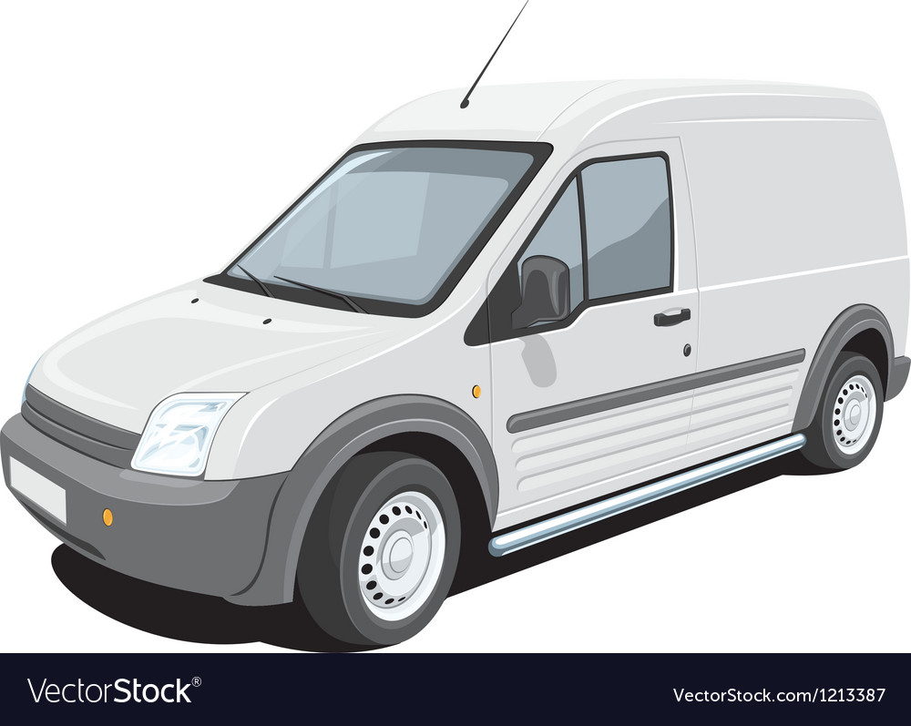 Delivery van vector | Price: 3 Credit (USD $3)