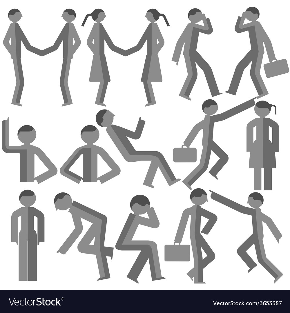 Dimensional bodily movement vector | Price: 1 Credit (USD $1)