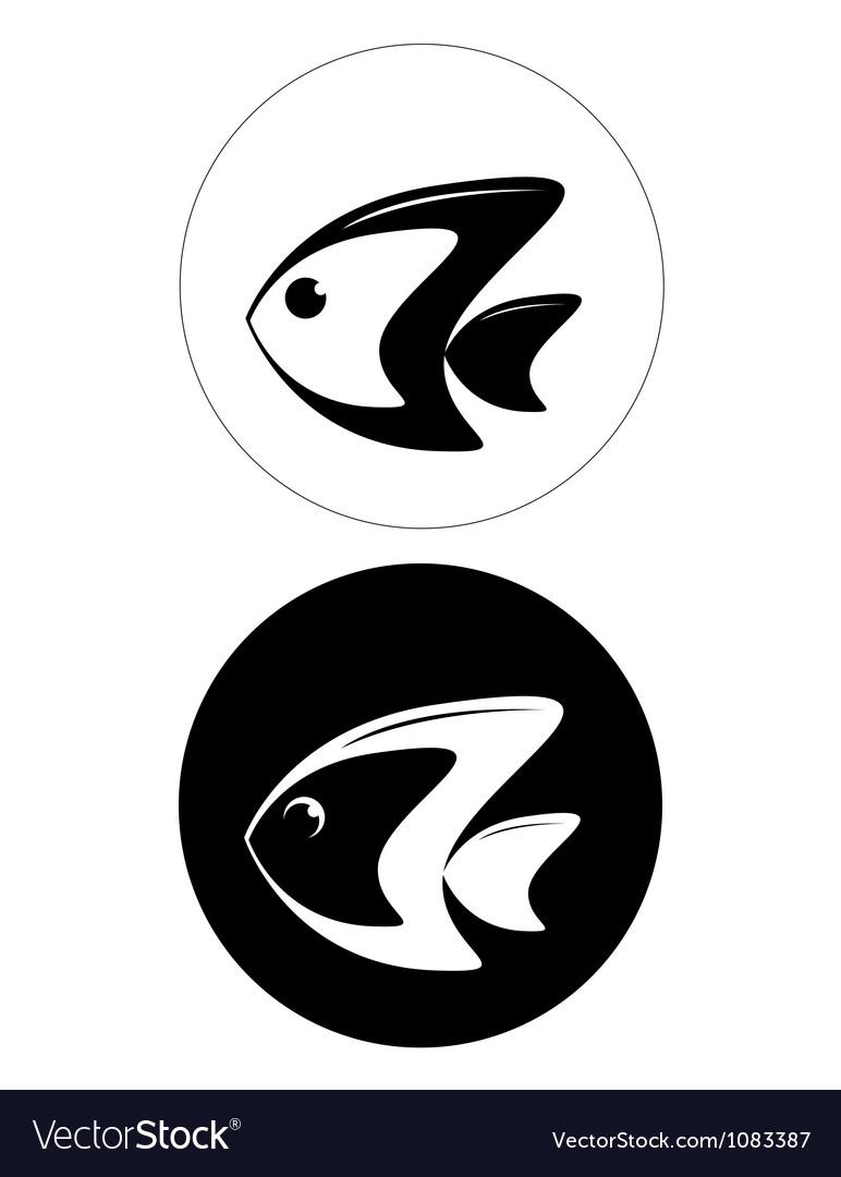 Fish logo vector | Price: 1 Credit (USD $1)