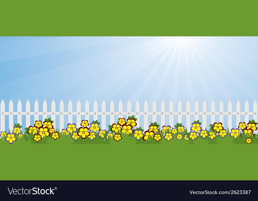 Garden lawn vector | Price: 1 Credit (USD $1)