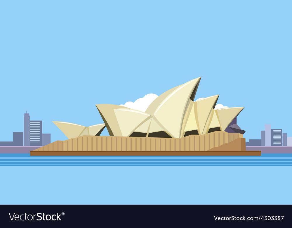 Sydney opera house vector | Price: 1 Credit (USD $1)