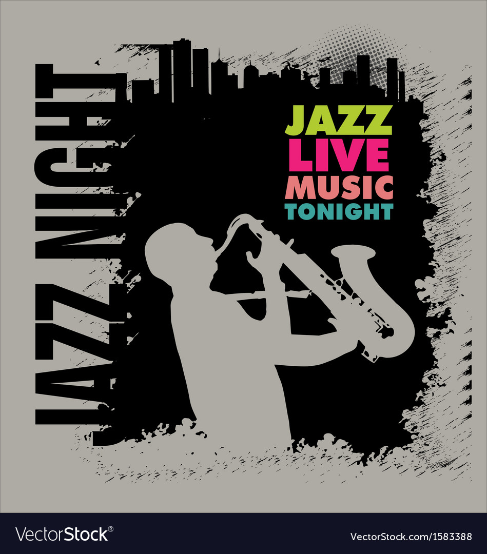 Jazz background vector   Price: 1 Credit (USD $1)