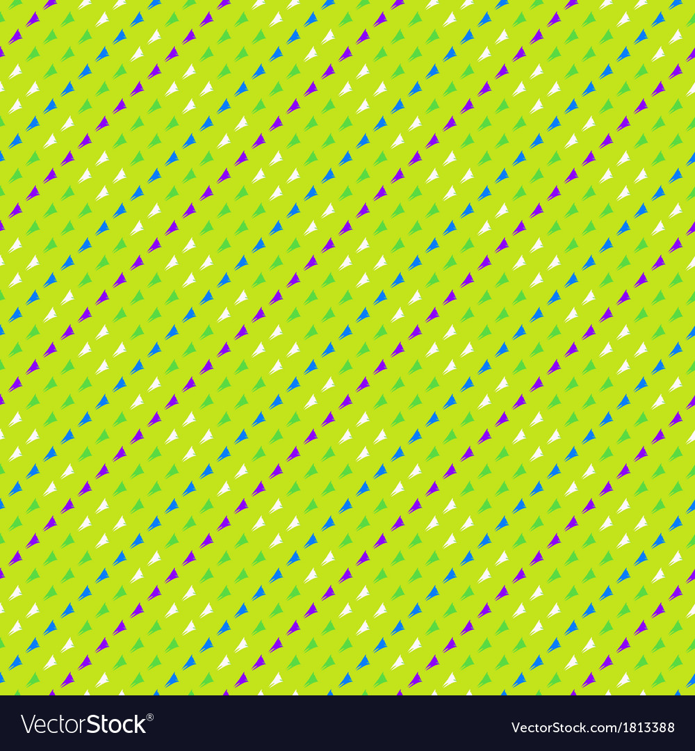 Pattern with triangles in hipster style vector | Price: 1 Credit (USD $1)