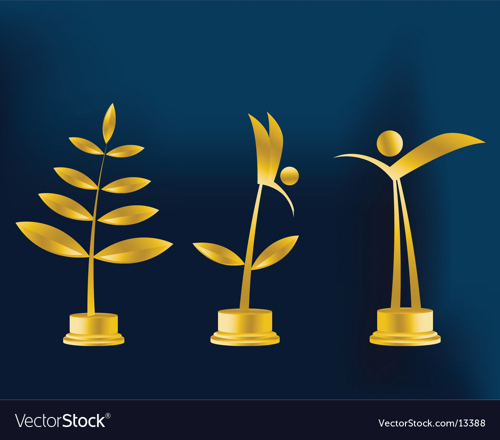Trophy illustration vector | Price: 1 Credit (USD $1)